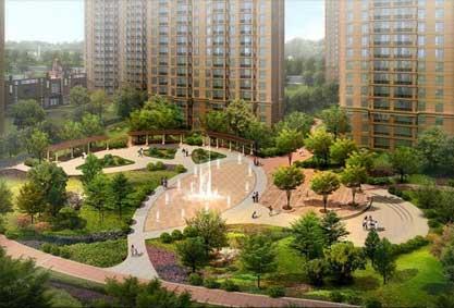 我公司完成哈尔滨市通乡街西侧棚改(香林名苑
